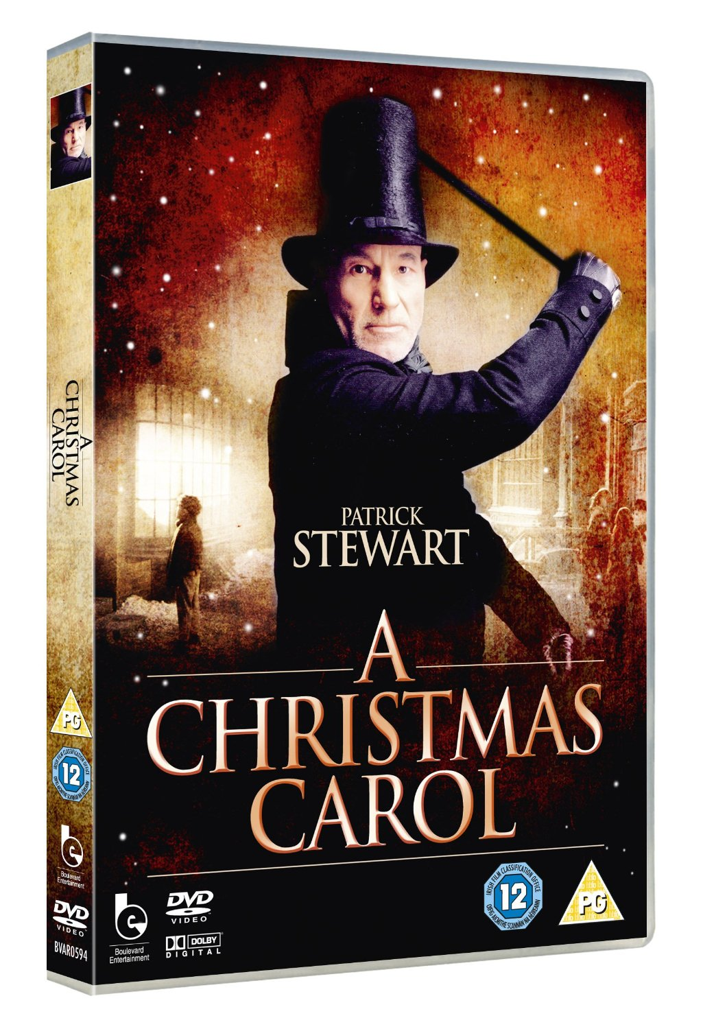 pictures from charles dickens christmas carol patrick stewart - A Christmas Carol With Patrick Stewart
